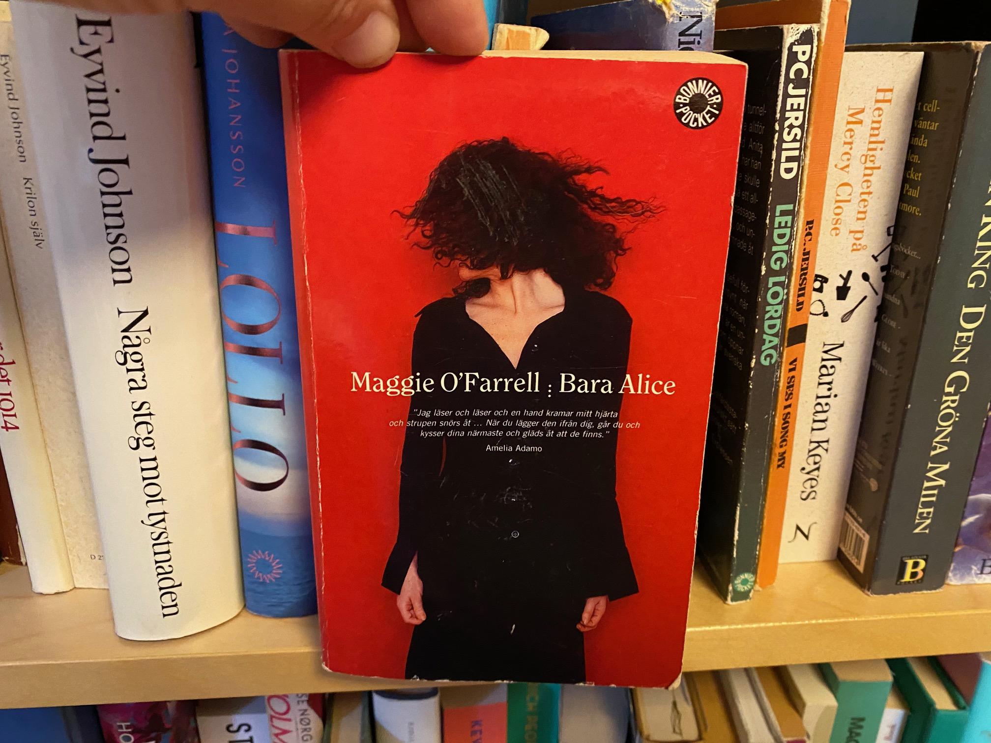 Maggie O'Farrell i min bokhylla