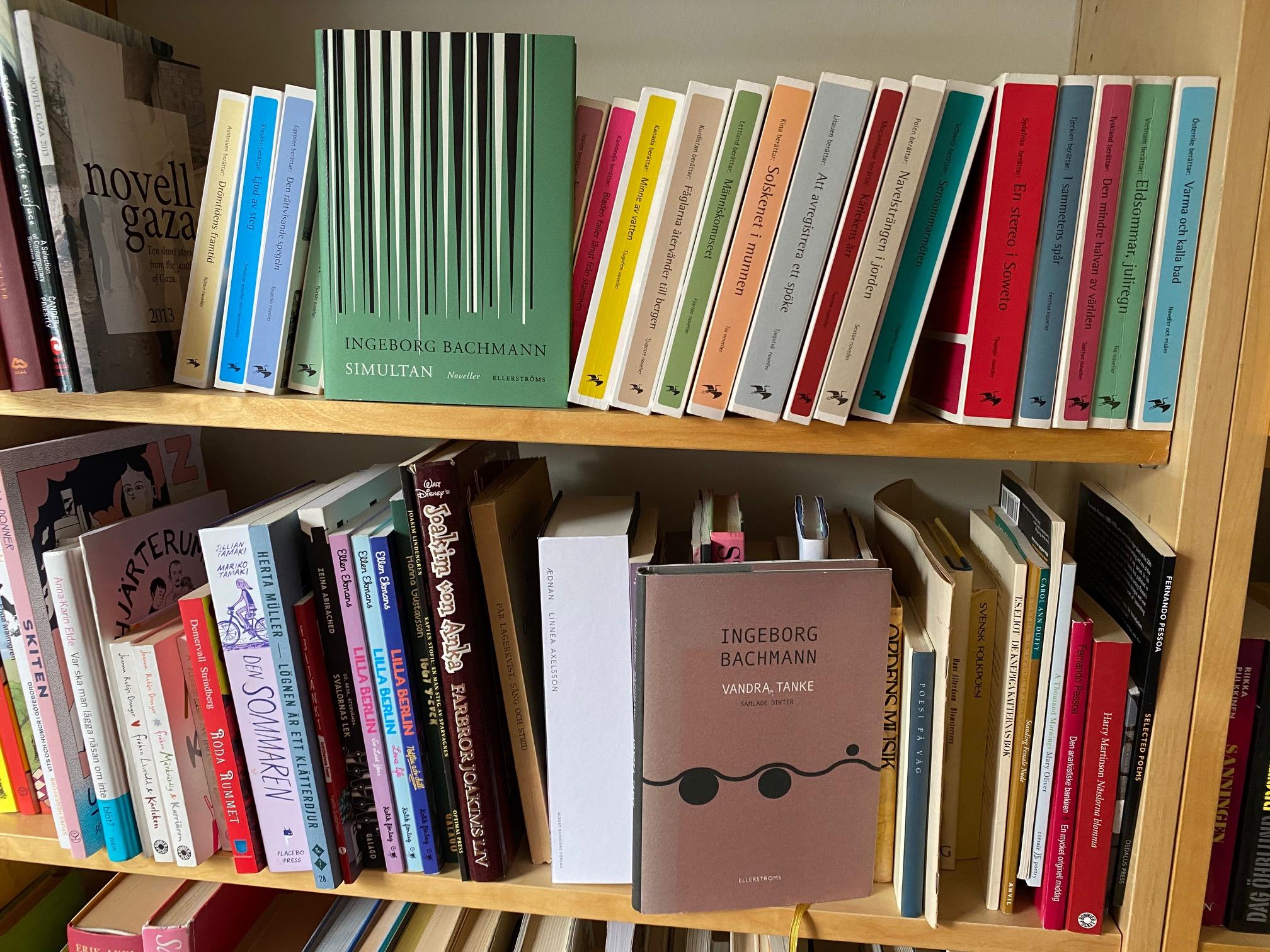 Ingeborg Bachmann i min bokhylla