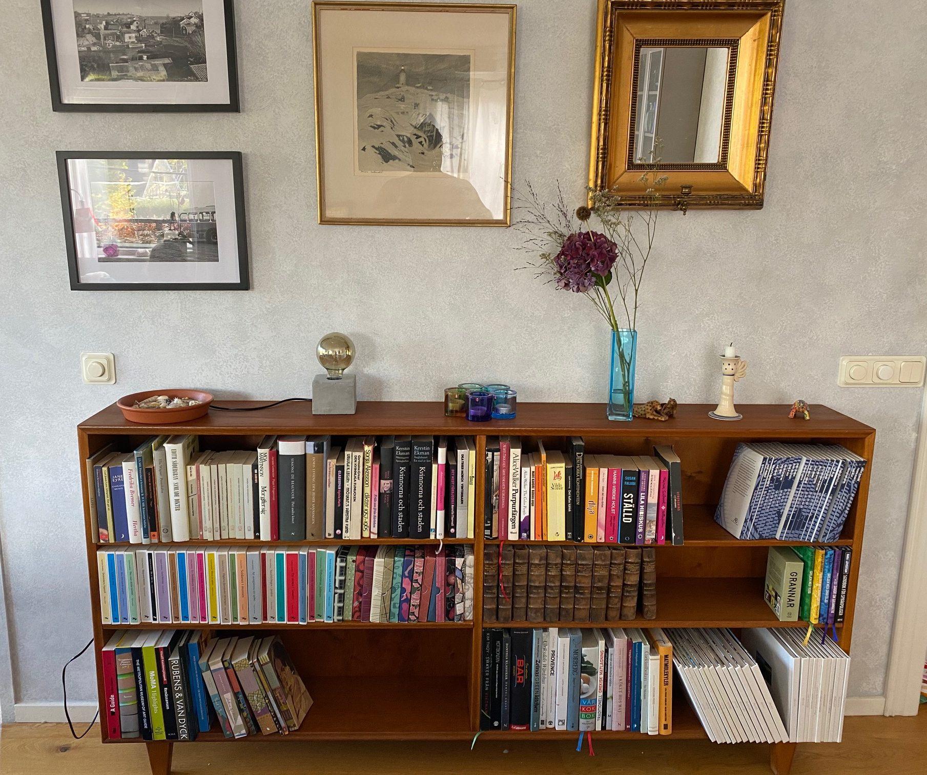 Shelfie - ny bokhylla i vardagsrummet