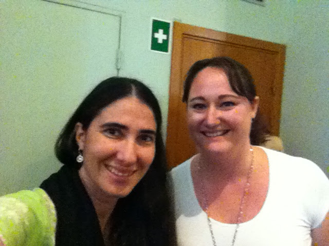 Yoani Sanchez och jag