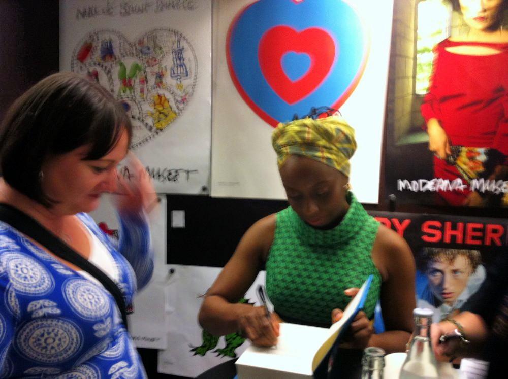 Chimamanda Ngozi Adichie och jag