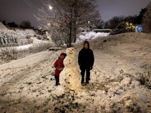 Snö och barn