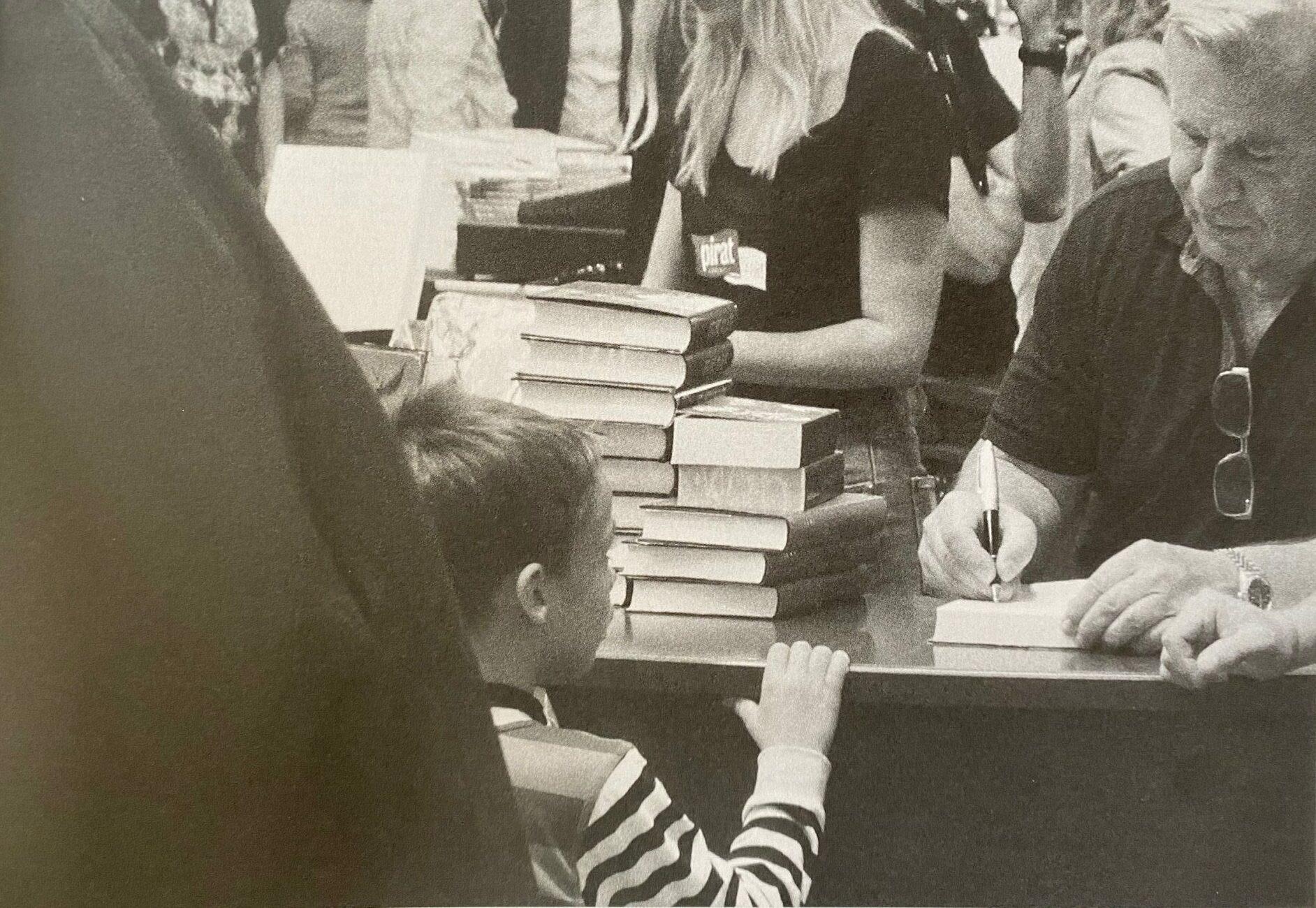 Jan på bokmässan