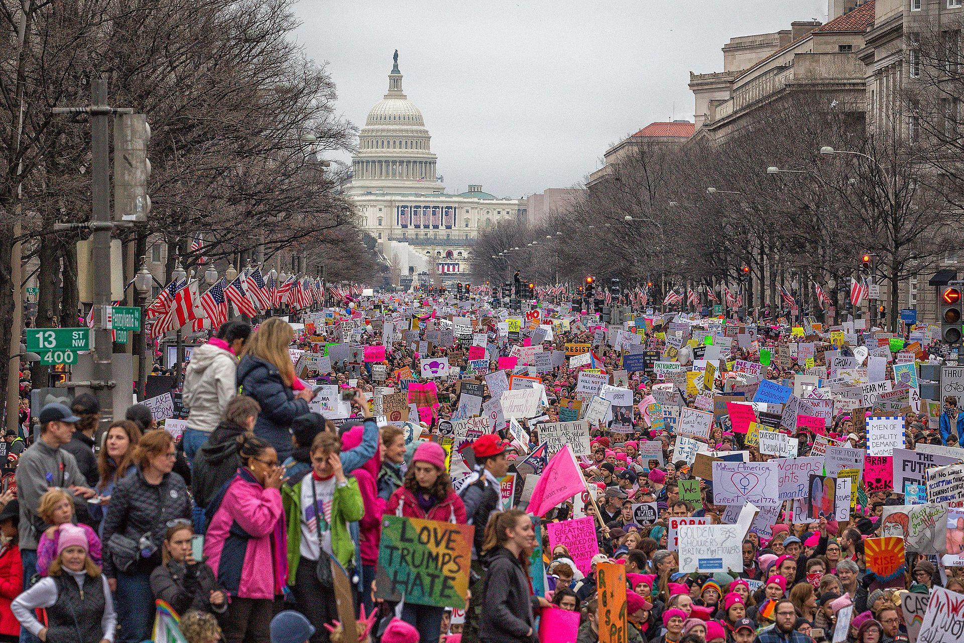 2017 års kvinnodemonstration i Washington DC