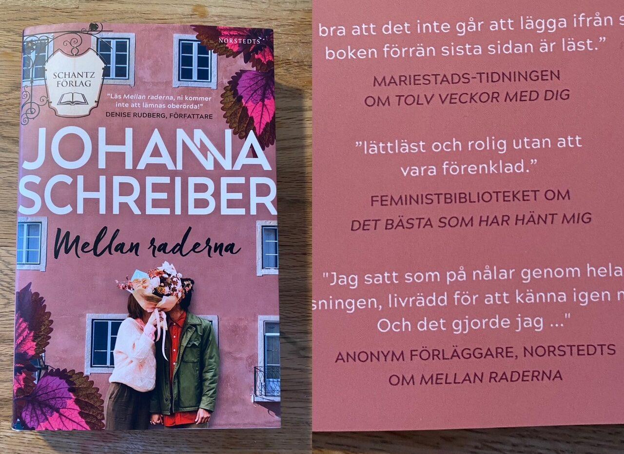 Blurb på Mellan raderna av Johanna Schreiber