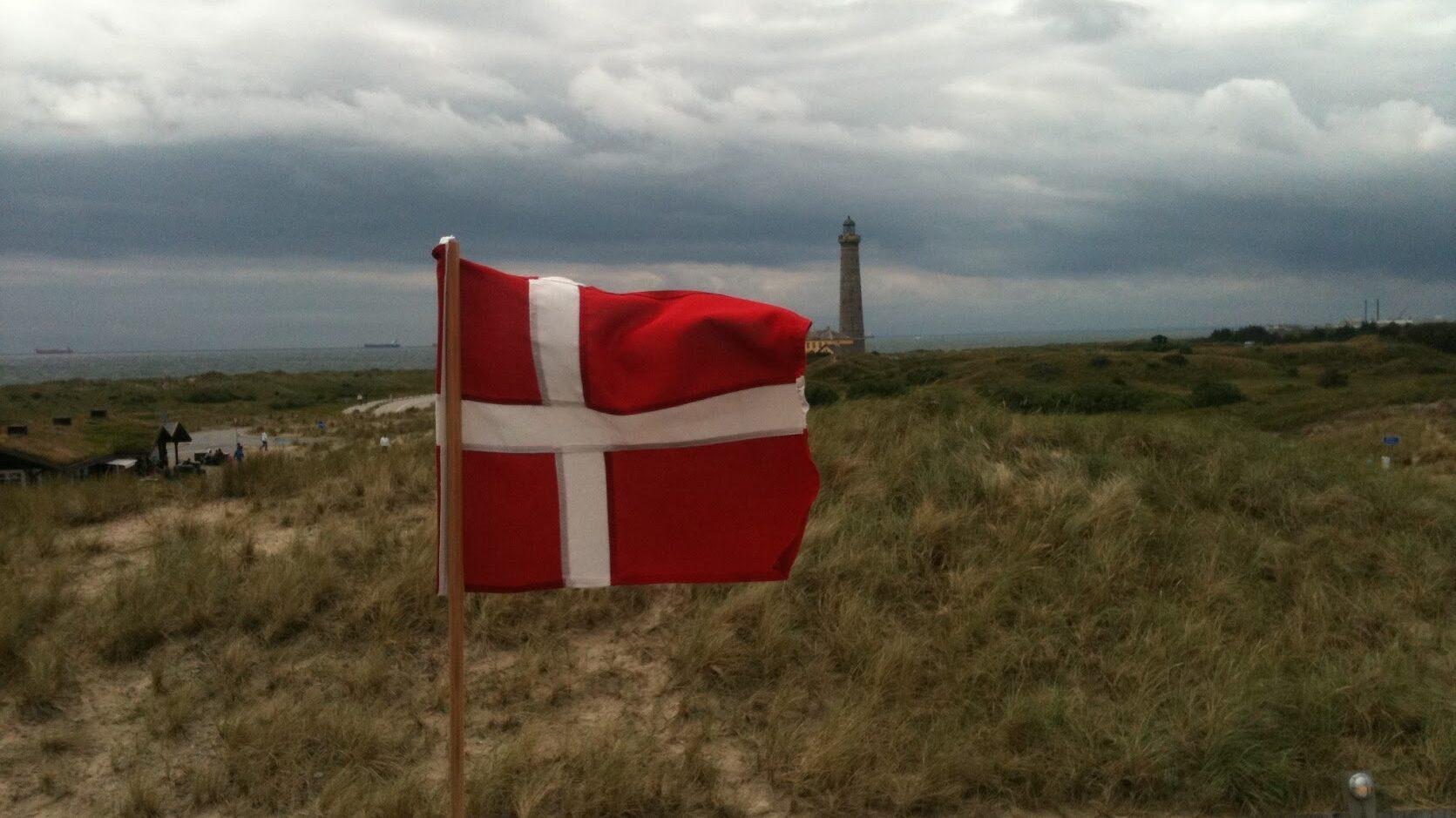 Skagen i Danmark