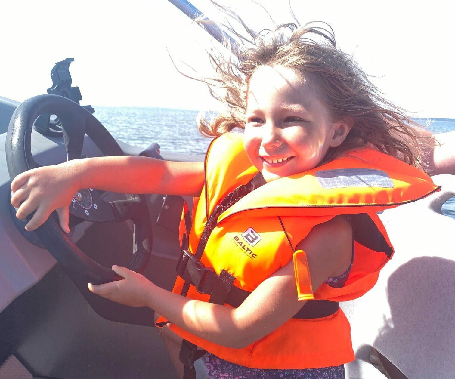 Selma kör båt 2021