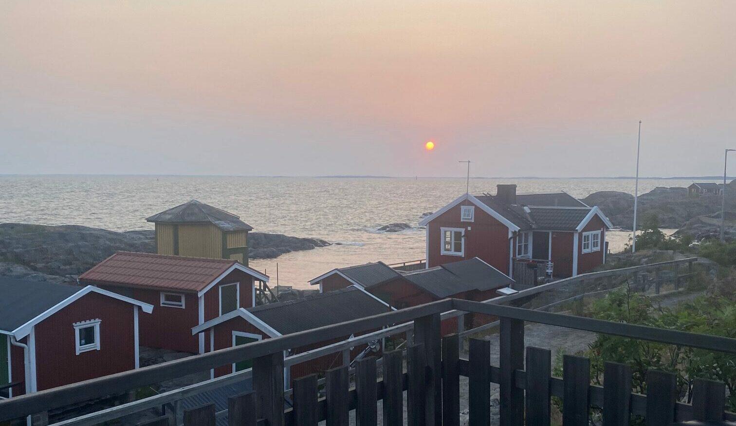 Solnedgång på Landsort
