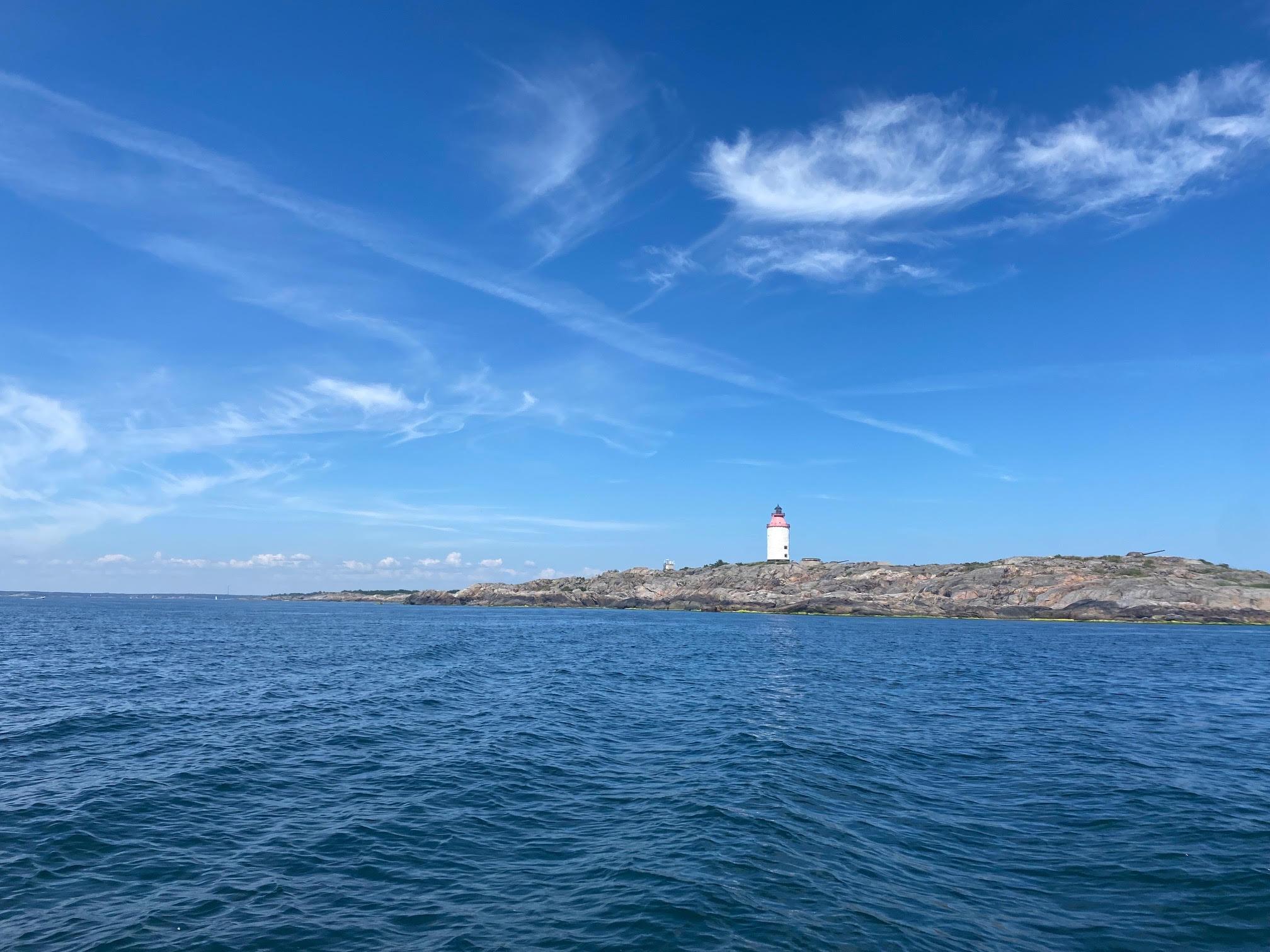 Landsort från havet