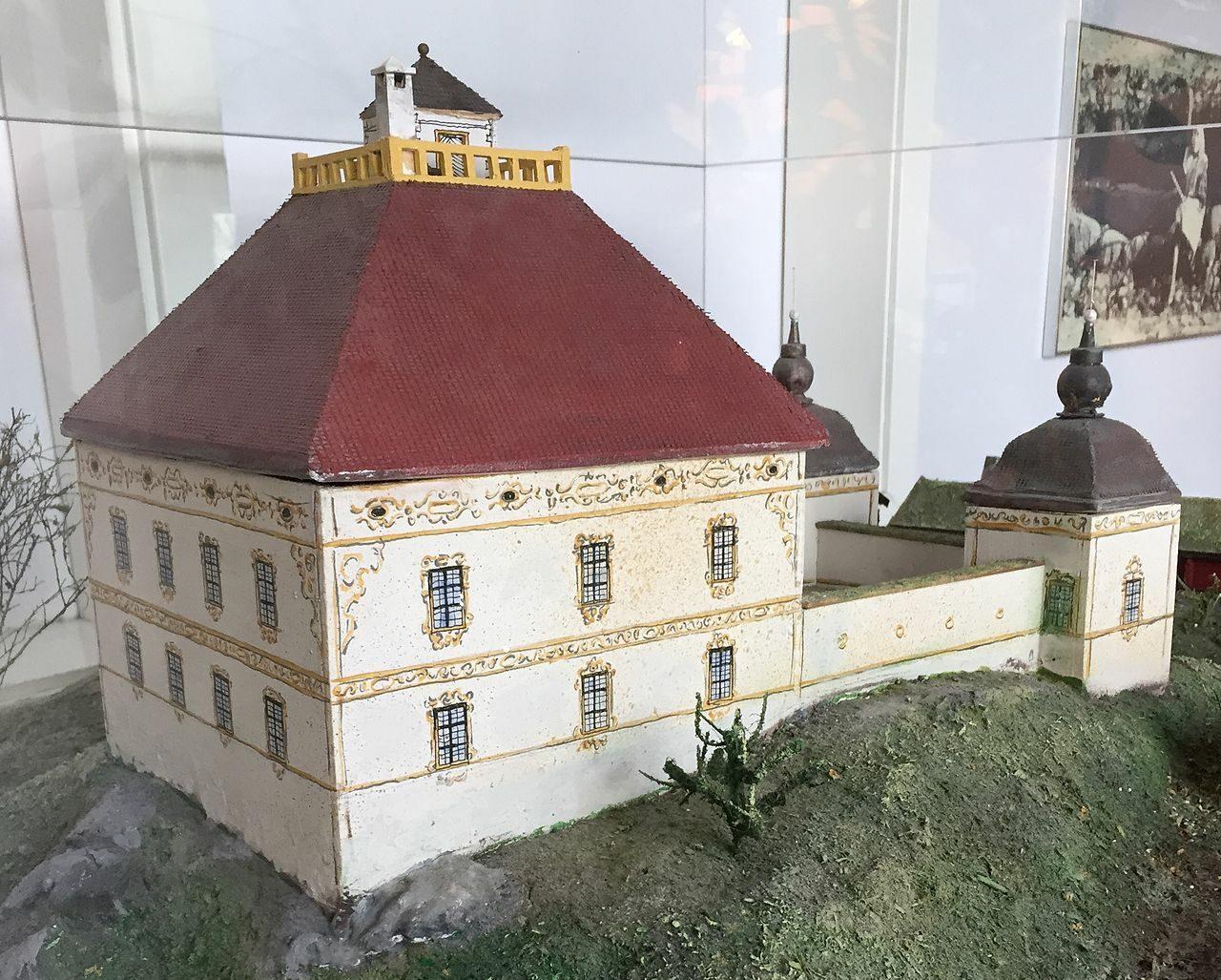 Modell av Brahehus