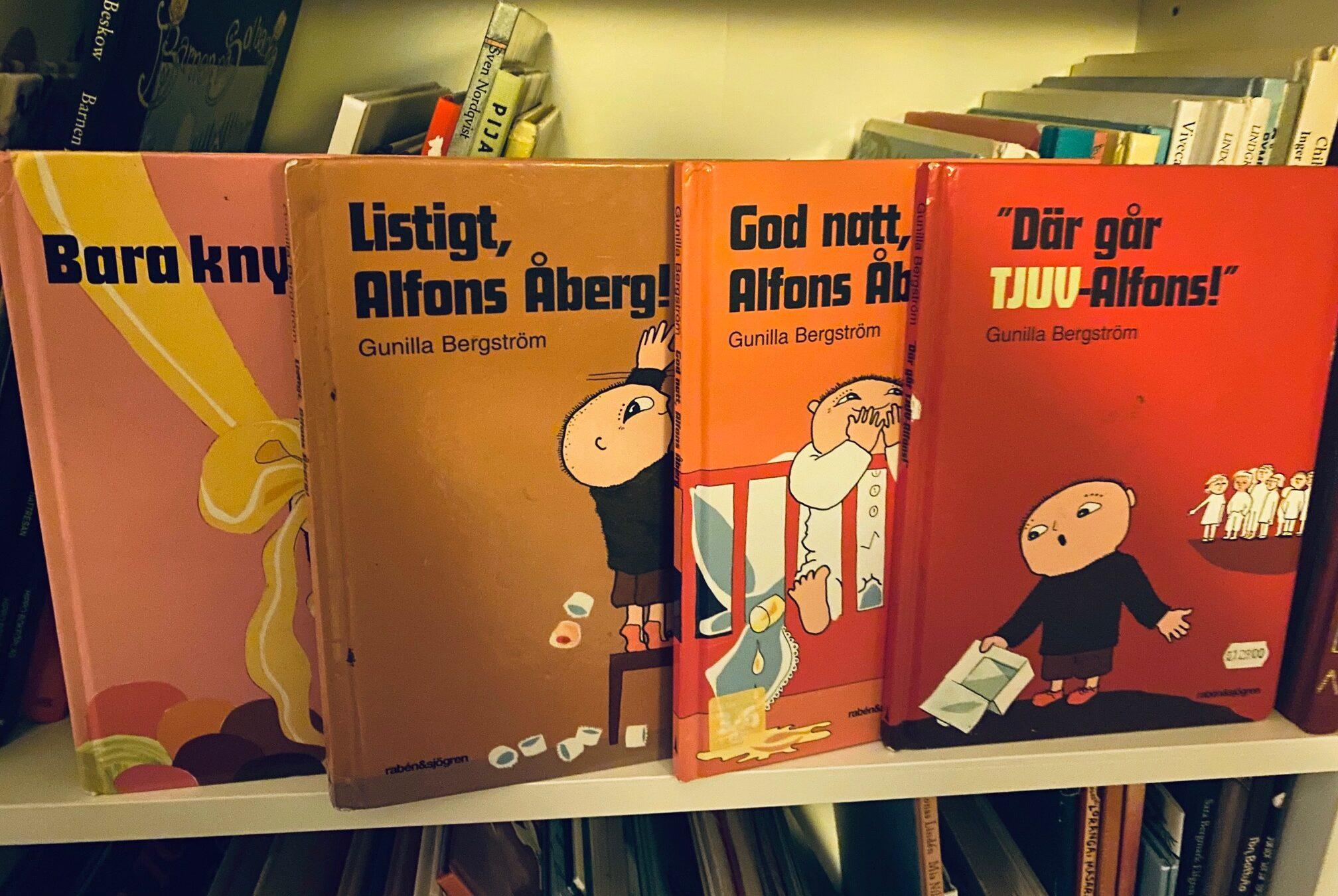 Alfons Åberg-böcker
