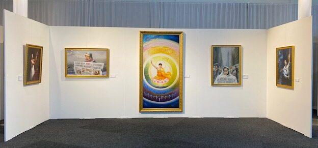 Falun Gong på Bokmässan 2021