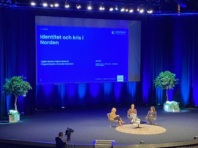 Identitet och kris i Norden på bokmässan 2021
